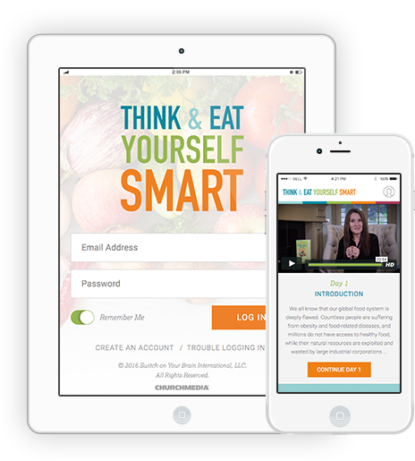 Think and Eat Yourself Smart App on the iPad and iPhone